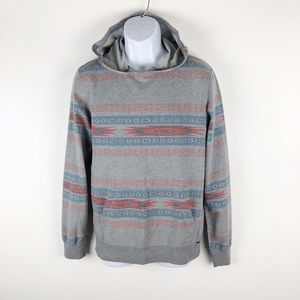 On The Byas PacSun Men's Aztec Lightweight Hoodie